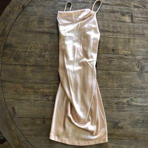 Victoria's Secret silk nude slip dress size xs